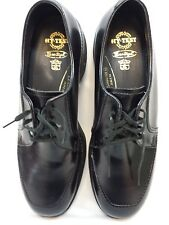 Vintage Hy-Test Steel Toe Dress Work Shoes Mens Black 8.5D NEW