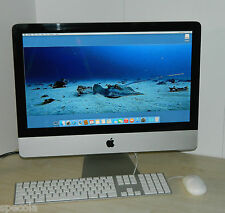 "Apple iMac 12.1 i5 2.5 GHz 21.5"" 500GB HDD 4GB RAM OSX 10.11 512MB EL CAPITAN/D"
