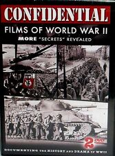 Confidential Films of WWII 2 DVD Set History Secrets Revealed Documentary New