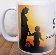 SON MUG, I LIVE FOR MY SON I WOULD BE LOST WITHOUT HIM,  mother's love mug