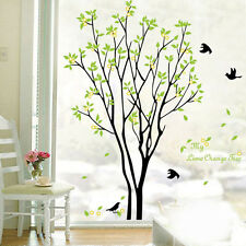 Tree Bird Quote Removable Vinyl Wall Decal Mural Home Art DIY Decor Sticker AU