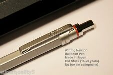 rotring 600 Newton Ballpoint Pen Silver New In Box