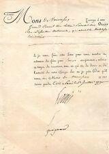 LOUIS XVI / LETTRE SIGNÉE (1790)/ ABOLITION DE LA NOBLESSE HÉRÉDITAIRE
