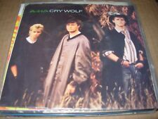 "A-HA cry wolf  ( rock ) - 7"" / 45 - picture sleeve -"
