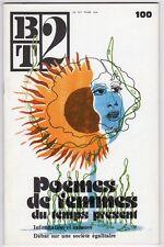 BT 2 BIBLIOTHEQUE DE TRAVAIL N°100 POEMES FEMMES TEMPS PRESENT/REVUE/PEDAGOGIQUE