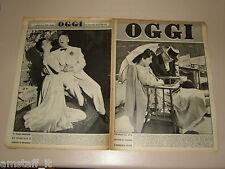 OGGI=1950/22=AVA GARDNER MARIO CABRE=TROGHI=QUO VADIS=GIOVANNI SUCCI=MARY MARTIN