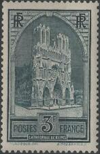 """FRANCE STAMP TIMBRE N° 259 """" CATHEDRALE REIMS 3F TYPE I """" NEUF xx TTB  H261"""