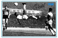 * PELE * Signed poster of soccer legend! Large size, perfect gift or memorabilia