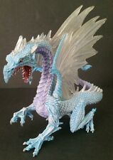 Ice Dragon Toy Figure Safari Ltd 10145 Fantasy Magic 2010