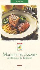 MAGRET DE CANARD AUX POMMES DU LIMOUSIN - FICHE DE RECETTE - TBE
