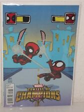 CONTEST of CHAMPIONS #1 - Baby Variant - SKOTTIE YOUNG - Deadpool - EWING Medina