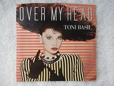 "Toni Basil ""Over My Head"" PROMO Picture Sleeve 45 RPM Record"