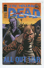 "The Walking Dead #115 - ""All Out War Chapter 1 of 12"" - 2nd Print - (Grade 9.2)"