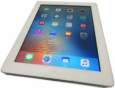 Unlocked GSM Apple iPad 4 4th Gen 32GB WiFi GSM 4G AT&T White iOS 9.3.1 Grade C