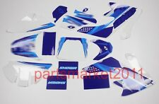 3M Blue Emblems Decals Graphics For CRF50 Pit bikes Honda Thumpstar SDG SSR DHZ