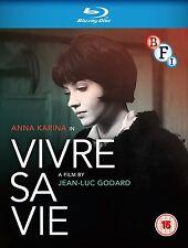 Vivre Sa Vie - Blu ray NEW & SEALED - Anna Karina