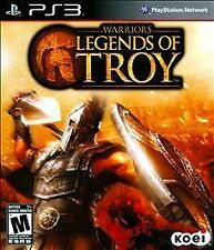 PS3 Warriors: Legends of Troy (Sony PlayStation 3, 2011) COMPLETE