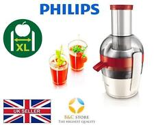 ~ NEW Philips Viva JUICER HR1855/90 extractor fruit fresh XL feeding tube easy ~