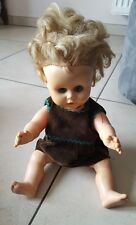 Ancienne poupée latex souple UNICA Belgium Bambola Doll Puppe  кукла