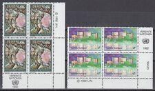 UNO Wien 1992 ** Mi.137/38 Freimarken Definitives [sr2077]