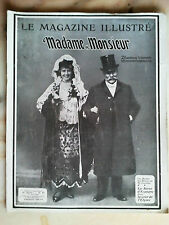 le magasine illustré madame monsieur n°43 de 1906 mode