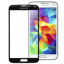 Samsung Galaxy S5 i9600 SM-G900F Display Glas Digitizer Touchscreen in Schwarz