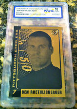 BEN ROETHLISBERGER LIMITED ED 2004 GEM-MINT 10 23KT GOLD ROOKIE CARD! STEELERS!