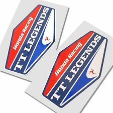 John McGuinness TT Legends Honda stickers  motorcycle decals  graphics x 2