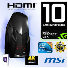 Gamer-PC-Intel Core I7 6700K-32GB RAM-6GB Geforce GTX1060-1TB-WIN10 PRO-WLAN