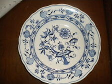 Piatto fondo in porcellana Teichert MEISSEN*. Primi '900