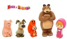 NEW! MASHA AND THE BEAR + FRIENDS! BABY TOYS FOR BATH! Маша и Медведь!
