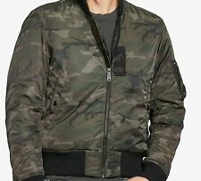 NEW Denim & Supply Ralph Lauren Men's Slim Camo Down Bomber Jacket Sz XL $198