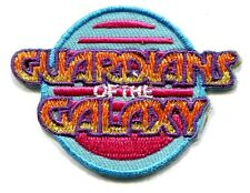 GUARDIANS OF THE GALAXY Logo: Mini Iron-On PATCH marvel comics **FREE SHIPPING**