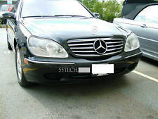 Mercedes Benz W220 S430 S500 Grill grille S55 00~02 Black 5 fins CL style AMG 55