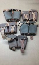 Mosin-Nagant Ammo Pouches  lot of 5 Y35