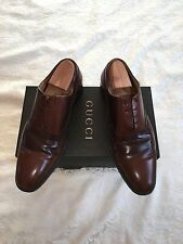 Men's Gucci Designer Leather Oxford shoes EU46