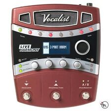 Digitech Vocalist Live Harmony Vocal Guitar FX Multi-Effects Processor Pedal