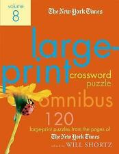Large-Print Crossword Puzzle Vol. 8 : 120 Large-Print Puzzles from the Pages...