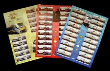Malaysia Train 2010, Railway, Locomotive, Transport KTM (sheetlet 3's) MNH *Rare