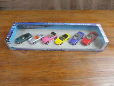(S3) CARARAMA HONGWELL 1:72 COFFRET BOXED DISPLAY BOX x 6 VOITURES CARS