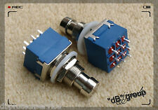 interruttore pedale 3PDT 9 pin TRUE BYPASS foot stomp switch CS PCB pedal guitar