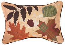Call of the Wild ~ Autumn Fall Leaves Rectangular Tapestry Pillow