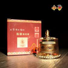 New Tibetan Tibet Buddhist 8 Cimelia Symbols finger Prayer Wheel Amulet Statue