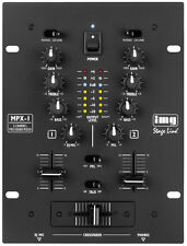 IMG Stage Line MPX-1/BK Stereo DJ Mixing Desk