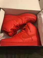 Nike Air Force 1 High Top Rojo