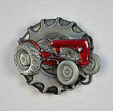 Tracteur Vintage Tracteur Ceinture Avec Boucle Oldtimer Tracteur 322