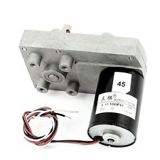 DC 12V 5RPM 1.2A 50KG.CM High Torque Brushless DC Gear Box Motor Speed Reducer