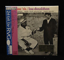 Lou Donaldson-Here 'Tis-Blue Note 9198-JAPAN CD MINI LP SLEEVE RARE SHRINK