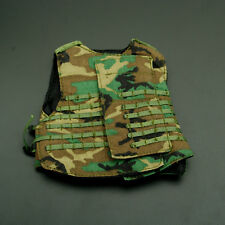 Dragon Toys 1/6 Soldier Clothes Model US Army Green Interceptor Bulletproof Vest