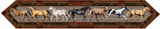 NWT Western Horses Table Runner